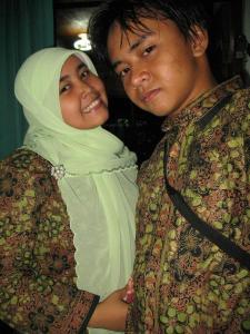 Farah Zakia Ahdiana dan Faisal Jamil